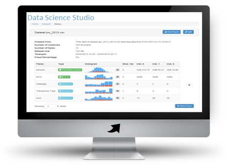 Dashboard showing demo